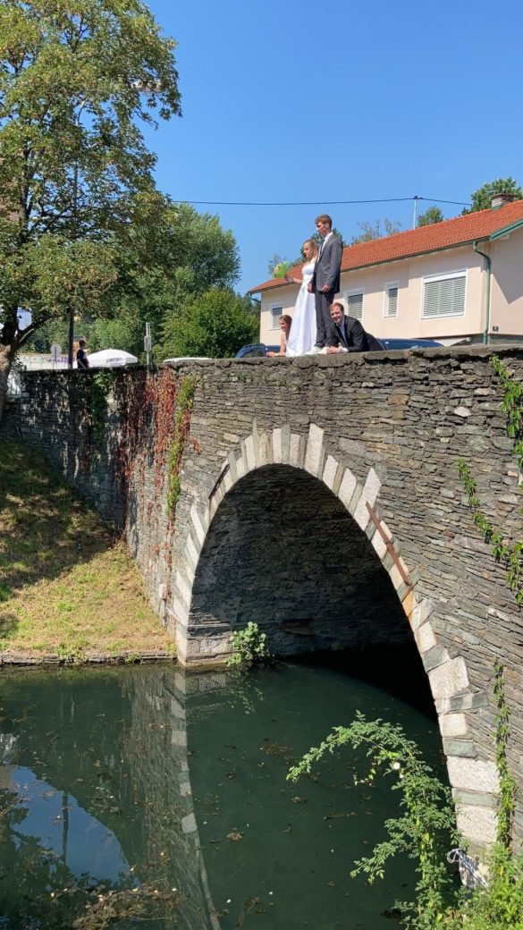 Spektakulärer Filmdreh an der Steinernen Brücke